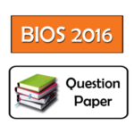HS Biology Question Paper 2016 PDF WBCHSE (Bengali Medium)