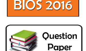HS Biology Question Paper 2016 PDF WBCHSE (Bengali Medium)