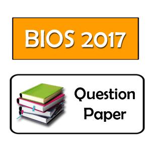 HS Biology Question Paper 2017 WBCHSE (Bengali Medium)