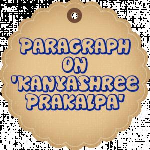 Paragraph-Kanyashree Scheme
