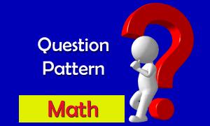 HS Mathematics Question Pattern for WBCHSE Class 12