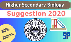 HS Biology Suggestion 2020 PDF Download WBCHSE – Science Group