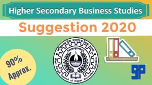 HS Business Studies Suggestion 2020