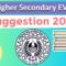 HS Environment Studies Suggestion 2020   EVS Suggestion