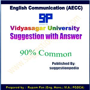 AECC English Communication Suggestion Notes Vidyasagar University