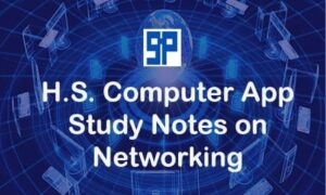 Higher Secondary Computer Application Study Notes on Networking