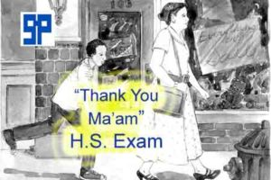 Download Thank You Ma'am Text, Bengali Meaning for H S  Exam