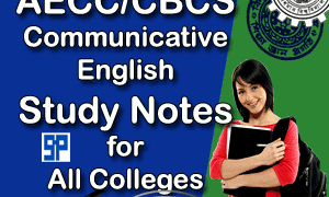 AECC Communicative English Study Notes | CBCS English for all Colleges