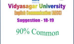 AECC English Communication Suggestion Notes | Vidyasagar University