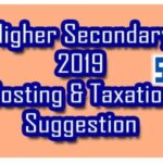 HS Costing and Taxation Suggestion 2019 PDF Download 80% Common