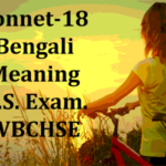 Shall I Compare Thee to a Summer's Day: Bengali Meaning, Text, Words Notes