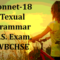 Grammar of Shall I Compare Thee to a Summer's Day | H.S. Exam