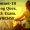Shall I Compare Thee to a Summer's Day Long Question for H.S. Exam |WBCHSE