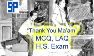 Textual Grammar of Thank You Ma'am for Higher Secondary WBCHSE