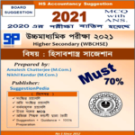 HS Accountancy Suggestion 2021 Download (WBCHSE) – 70% Must