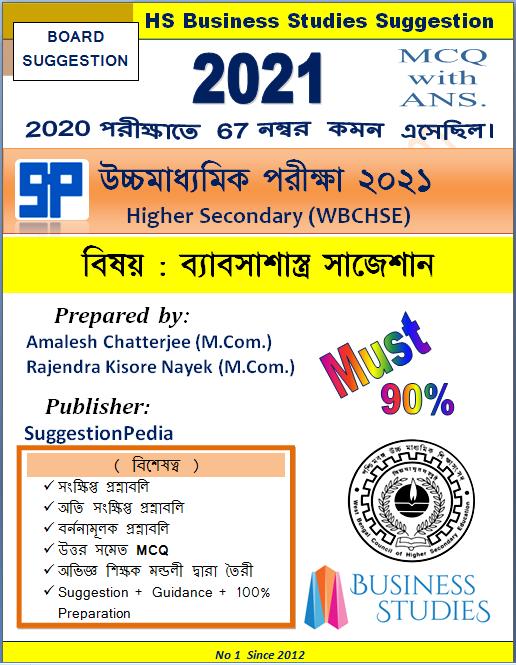 HS Business Studies Suggestion 2021