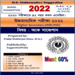 HS Mathematics Suggestion 2022 PDF Download for Class 12 – 60% Must
