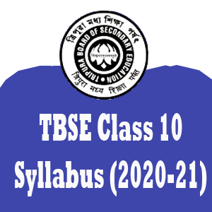 TBSE Syllabus reduce for class 10